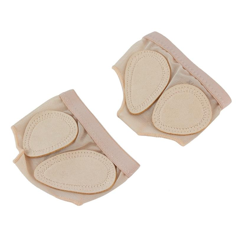 Deal Khuyến Mãi 1 Pair Foot Protector Forefoot Dance Paws Cover Toe Undies Shoes Ballet Gymnastics Dance Latin Practice Foot Set Front Protector