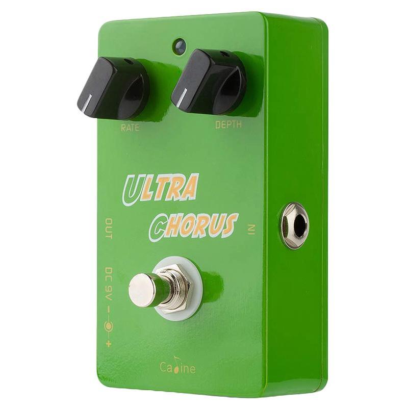 Caline CP-28 Ultra Chorus Guitar Effect Pedal Aluminum Alloy Pedals Housing True Bypass Guitar Accessories