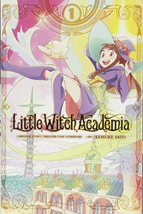 Little Witch Academia, Vol. 1 (manga) By Galleon.ph.