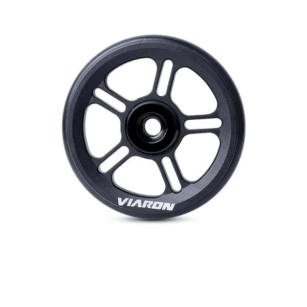 Phân phối VIARON for Brompton Folding Bike Rear Cargo Rack Easy Wheel Bearing Wheel for Brompton Accessories-1Pcs