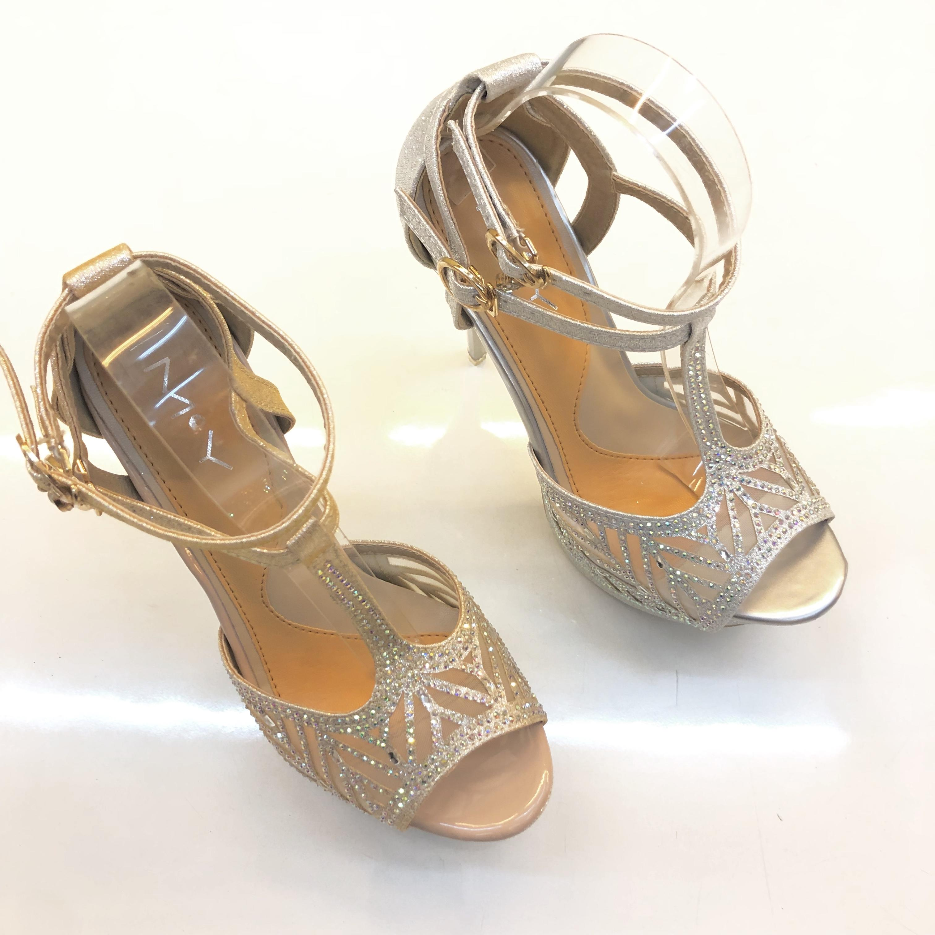 e98fdbbdd74 DS Korean Best seller Summer Women Fashion High Heel Peep Toe Platform  Stiletto Ankle Crisscross Strap