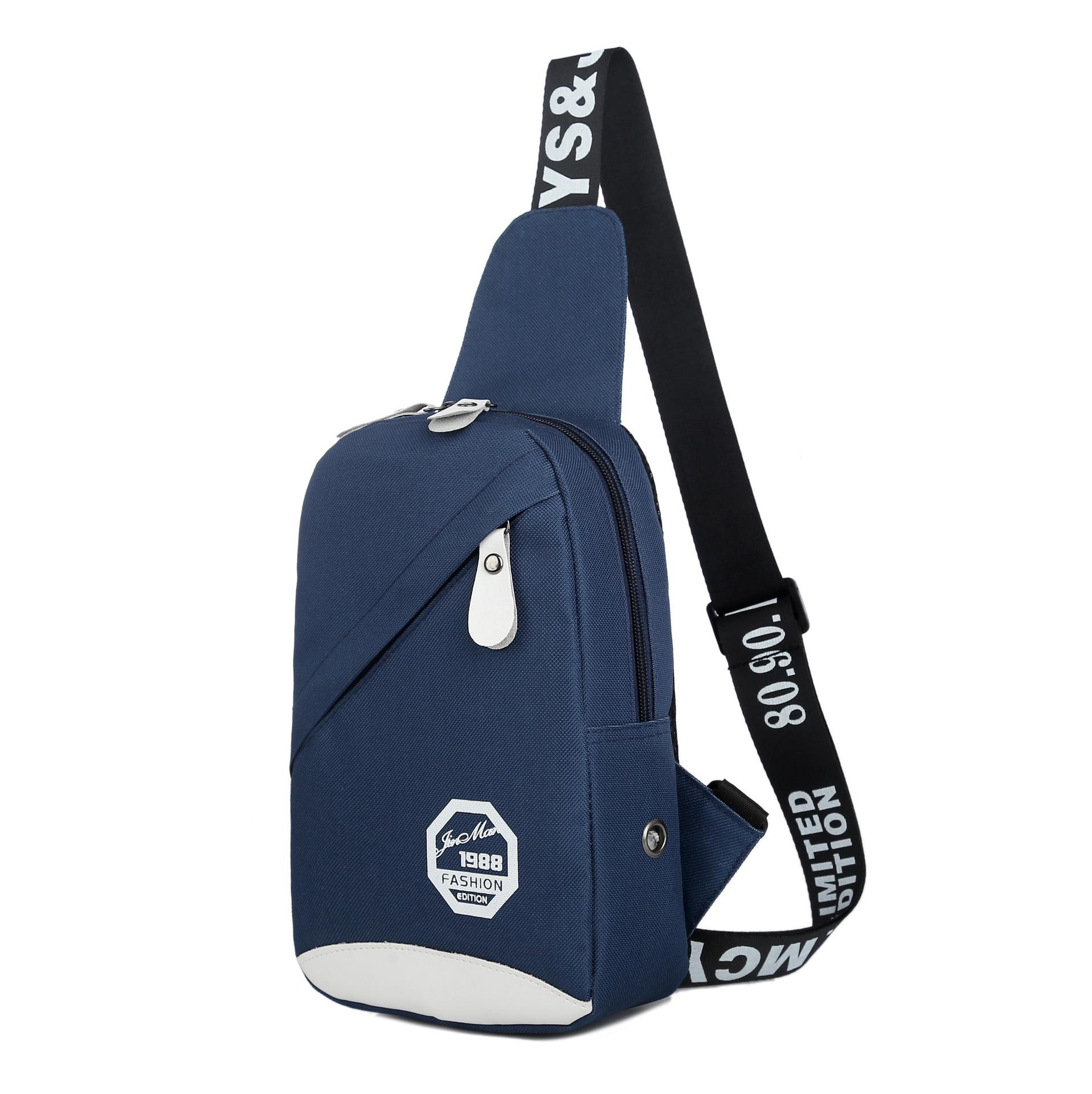 Men Crossbody Bags Sling Bags Chest Shoulder Bags Messenger Travel image on snachetto.com