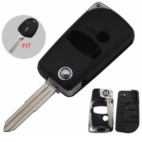 Mitsubishi Flip Key Conversion Shell 3-Button Remote Key By Macolay Enterprise.