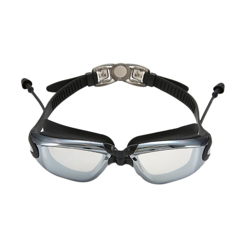 ROBESBON Waterproof Professional Swimming Goggles Anti-Fog Uv Men Women Water Sports Swim Eyewear Swimming Glasses With Earplug Giá Giảm
