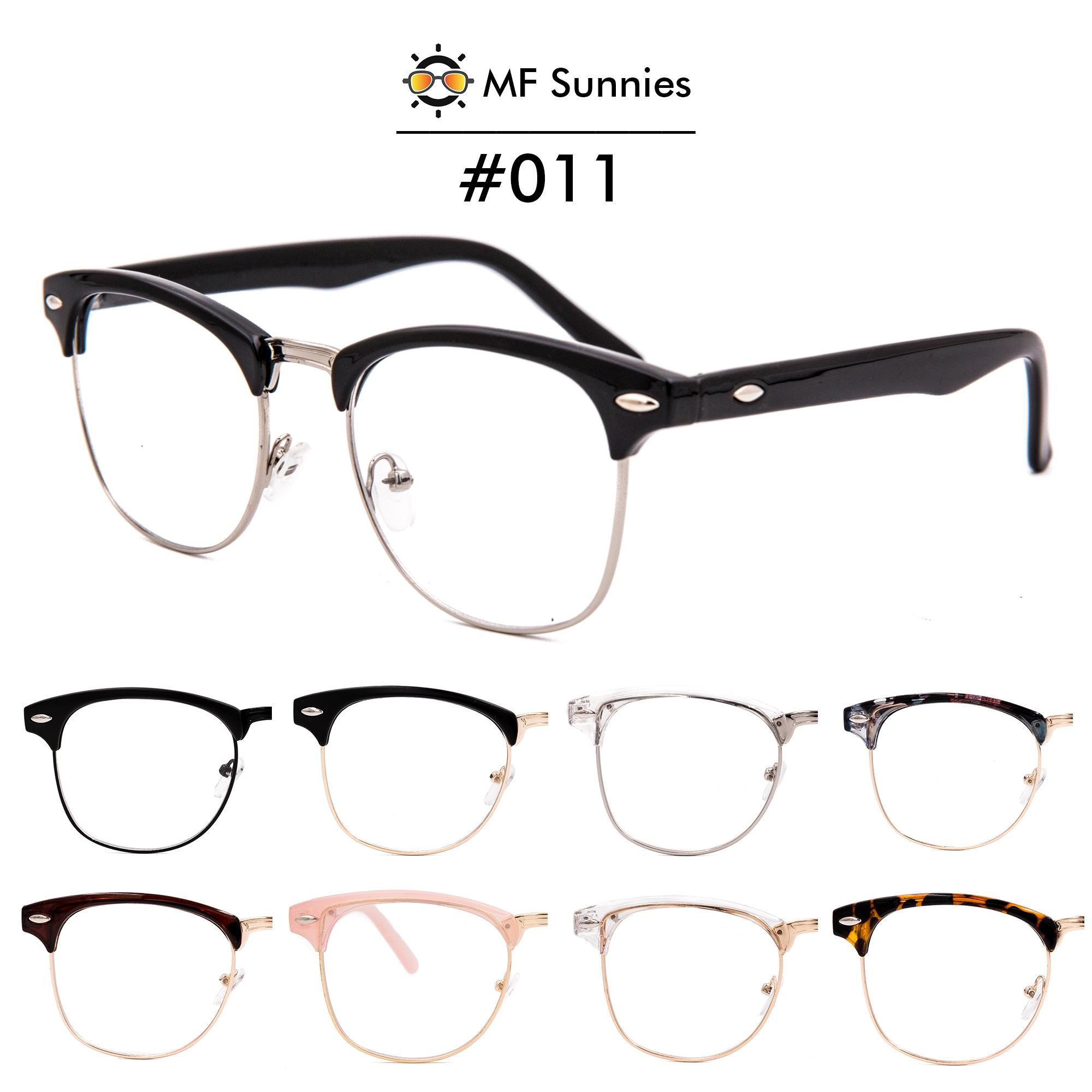 f55d0338d1 MFSunnies Clubmaster Computer Anti Radiation Blue light Classic Metal  Hinges High quality acetate frame