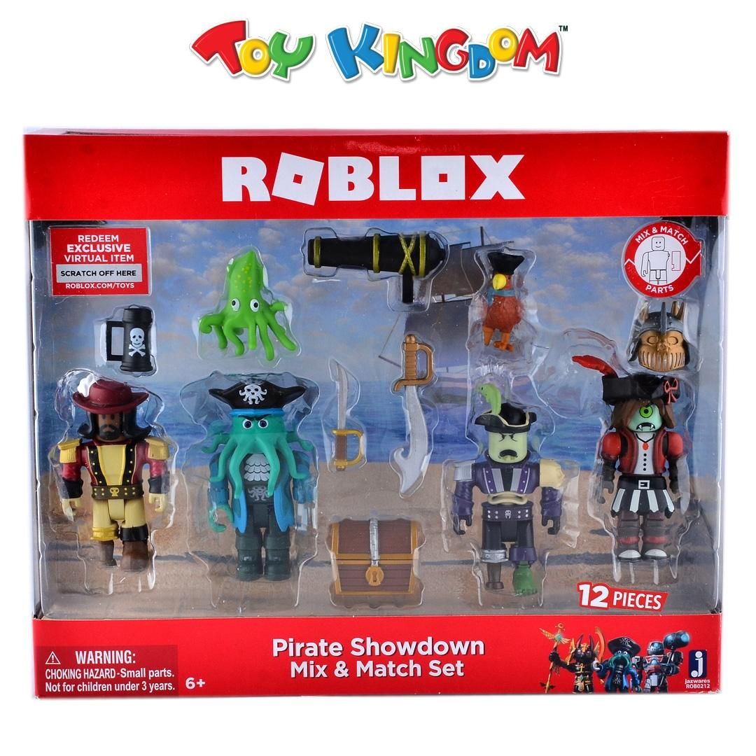Roblox Pirate Showdown Mix and Match Figure Set for Kids