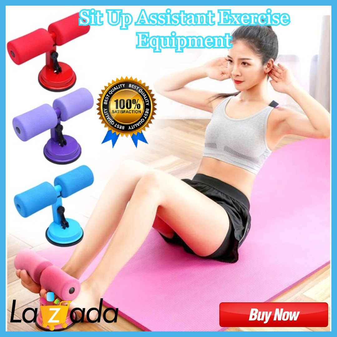 Strength Training Situp Assist Bar Gym Exercise Abdominal Core Fitness