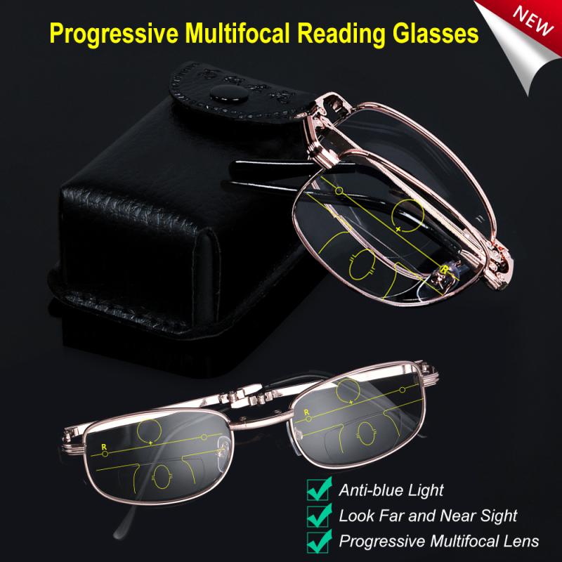 Giá bán snsqdyw0010 Kính đọc sách Unisex Folding ống kính đa tiêu tiến