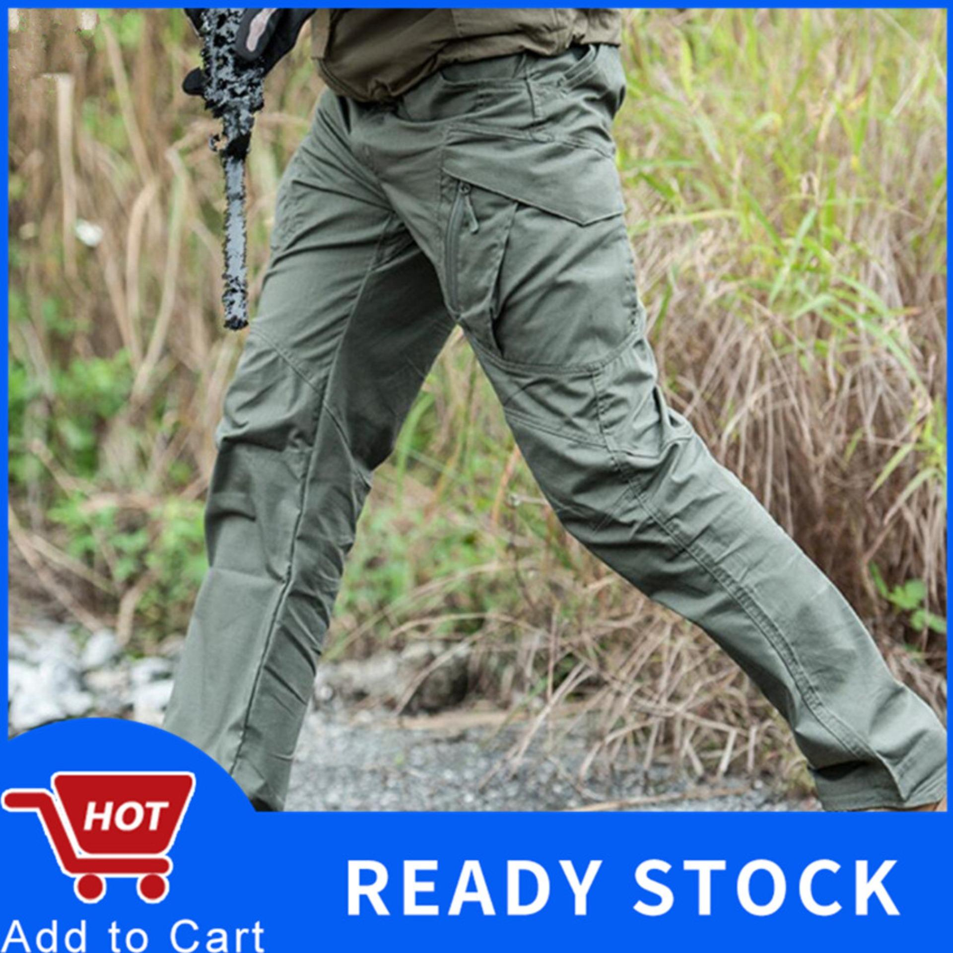 8a1308716294c6 【Hot Sale】 Men's Tactical Warfare Pants Men Cargo Silm Pants Casual Men's  Swat Fighting
