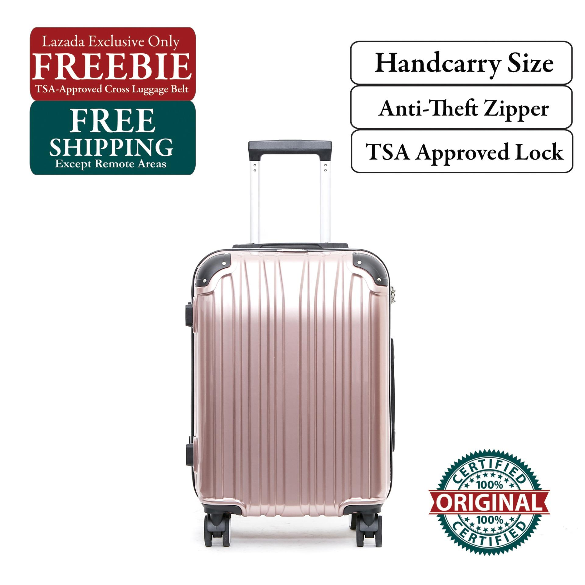 964665104 British Knight BLF201ZT Rose Gold Small (20 Inch) Luggage with TSA Lock,  Anti