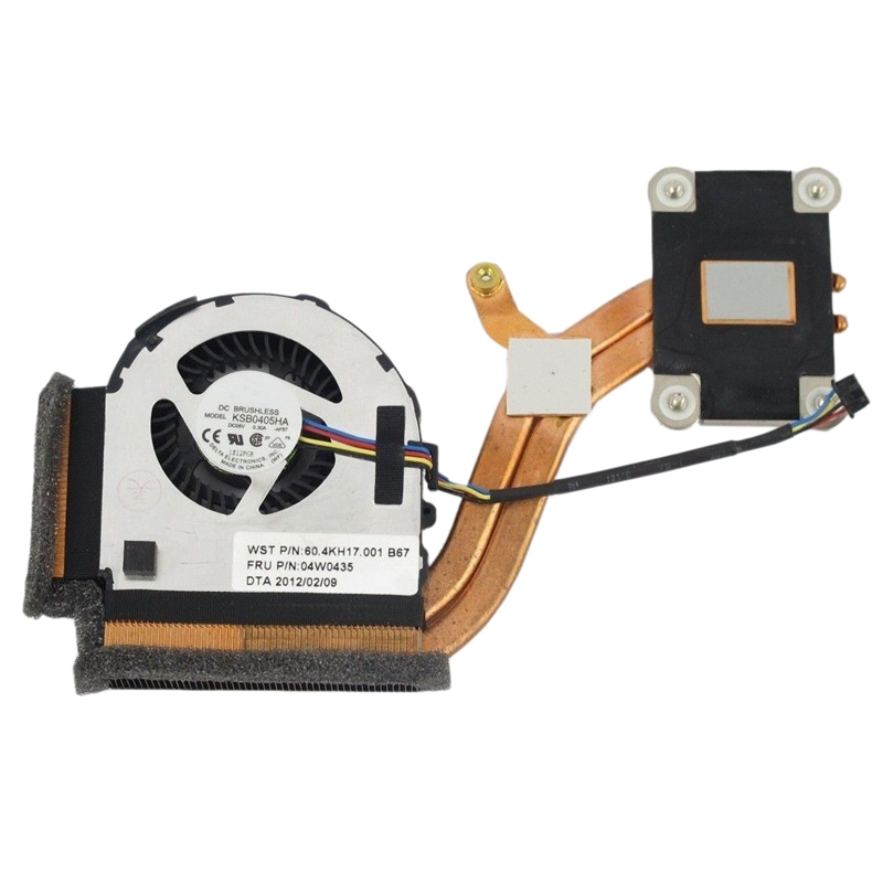 Giá New CPU Fan Heatsink Fru 04W0435 For IBM Lenovo Thinkpad X220 X220IT X220I X230