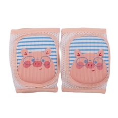 Knee Pads Breathable Sponge Toddler Socks Knee Pads Baby Infant Summer Crawling Toddler Anti-Fall Anti-Slip Elbow