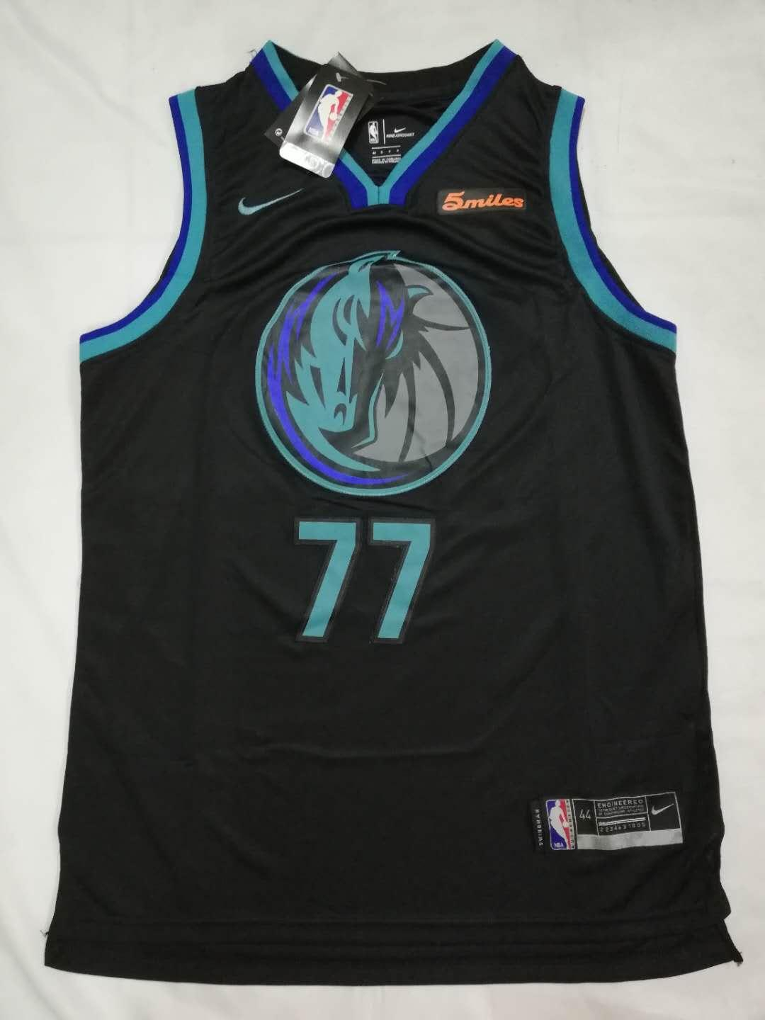 new style 44f3c aac2b NBA Dallas Mavericks -77 Luka Doncic Basketball Jersey