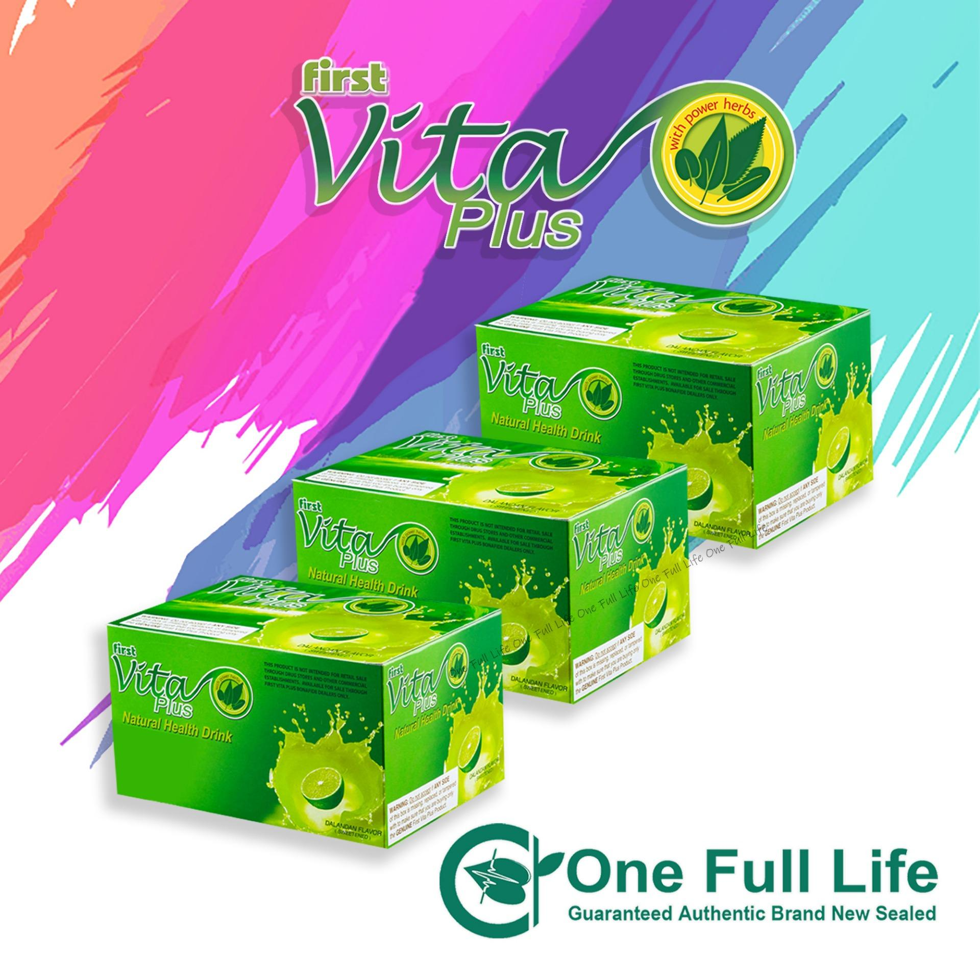 First Vita Plus Dalandan 3 Boxes By One Full Life.