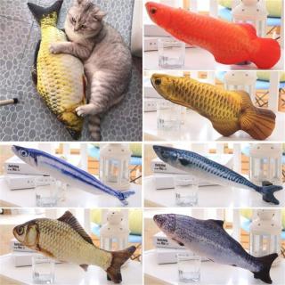 RENWAN Catnip Cá Bạc Hà Tương Tác ChơI Mèo Con, Đồ Chơi Mèo Thú Cưng Nhồi Bông thumbnail