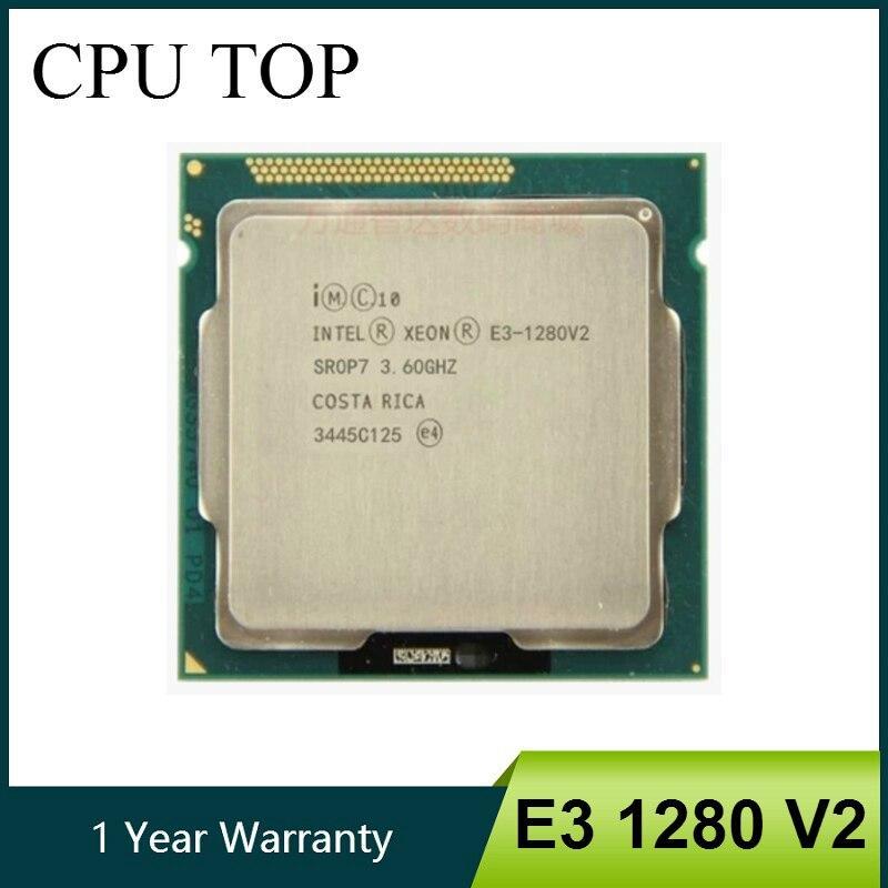 Intel Xeon E3-1280 V2 8M Cache 3.60 GHz SR0P7 LGA1155 E3 1280 V2 CPU Processor YFD Store