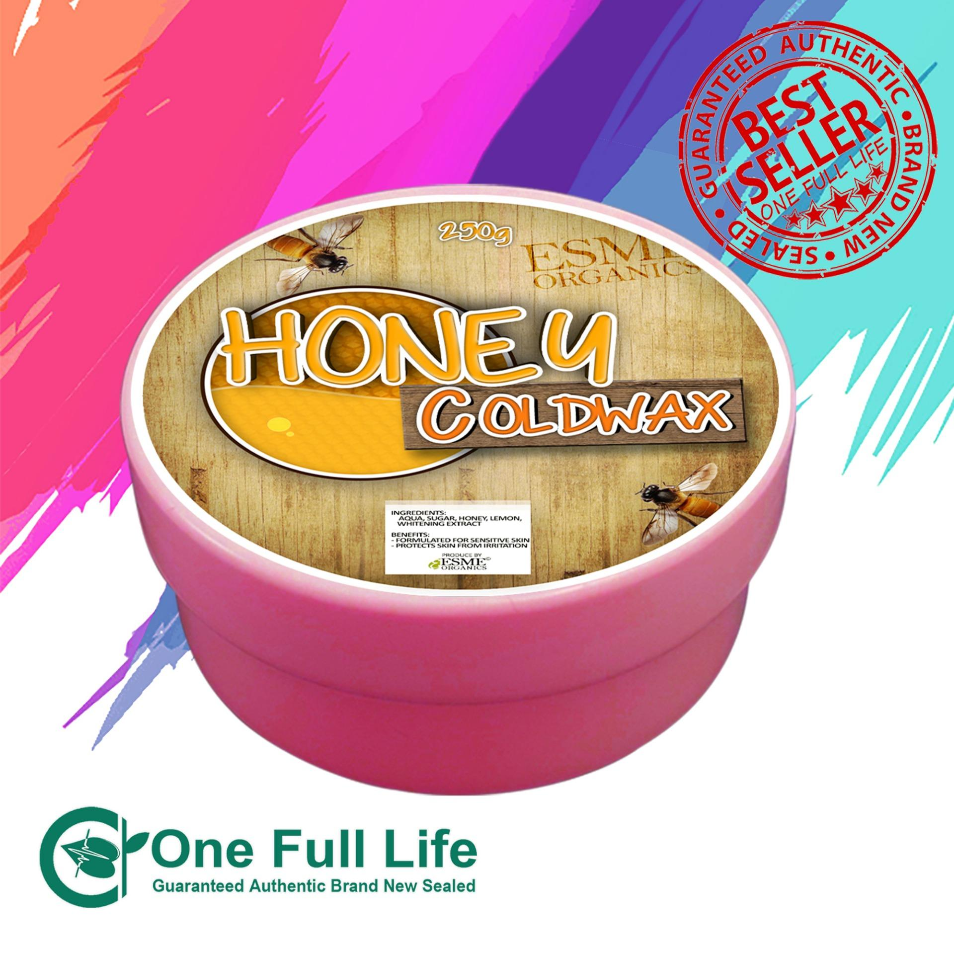 Esme Cold Wax Hair Removal Honey 250g By One Full Life.