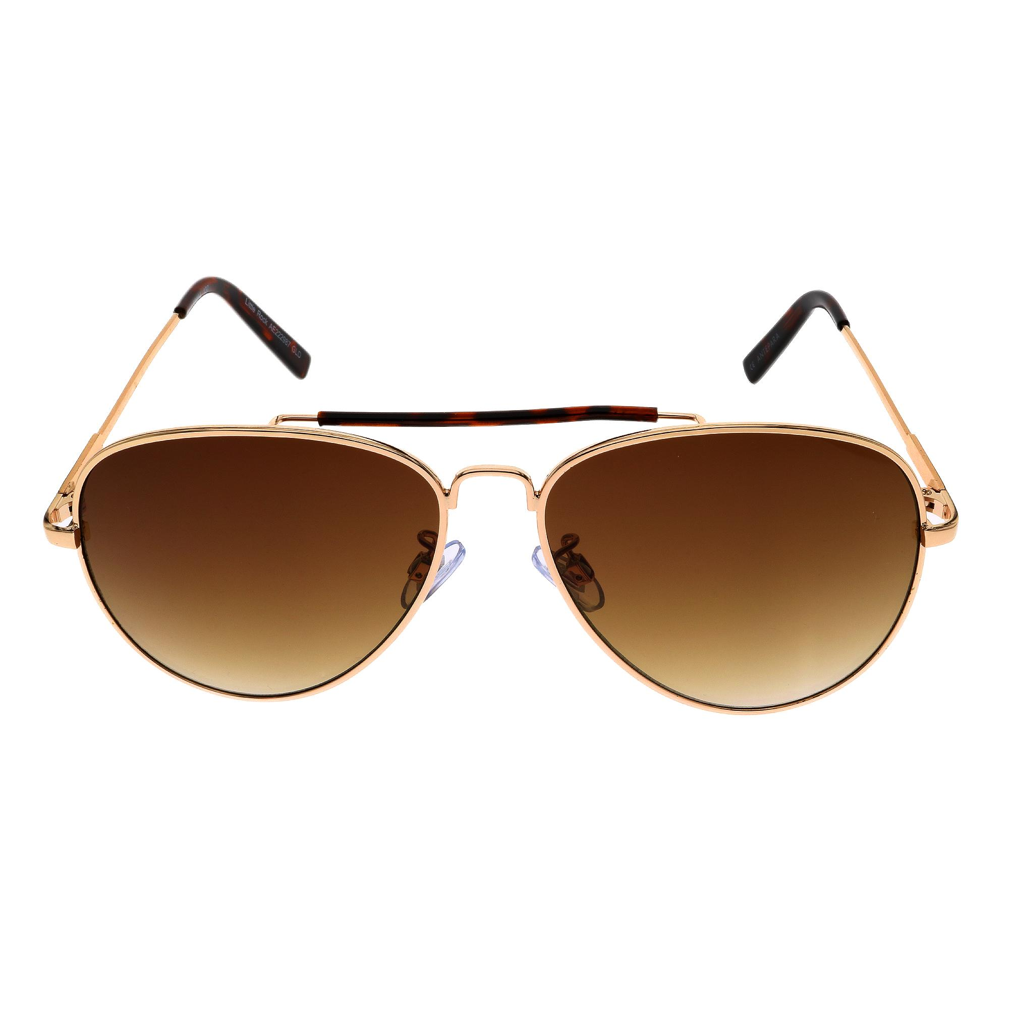 db261d67602 Philippines. Little Rock AE222987 GLD Sunglasses Gold Frame Brown Lens  (59-14-140)