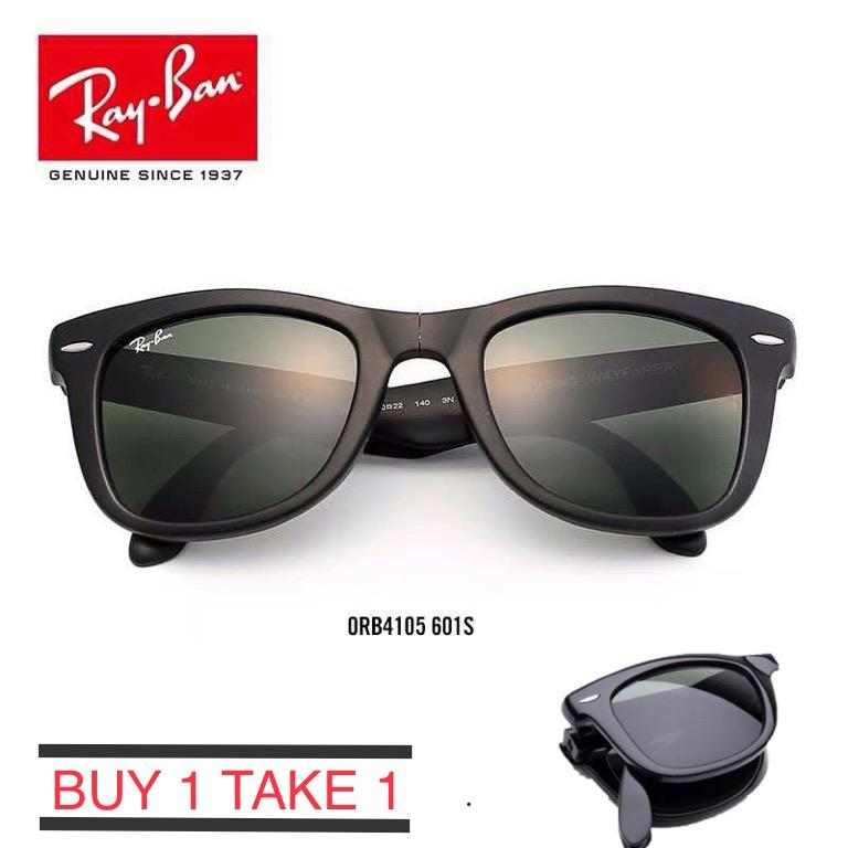 d372550d48f3b Buy 1 take 1 sunglasses men and women square retro elegant folding  sunglasses unisex