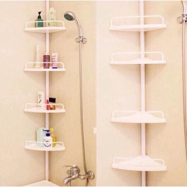 Adjustable Bathroom Multi Corner Shelf Shower Organizer By H.s Fashion Wear.