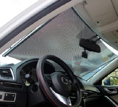45x125cm Retractable Auto Car Curtain Shade Windshield Sun Shade Protection da1c700f70f