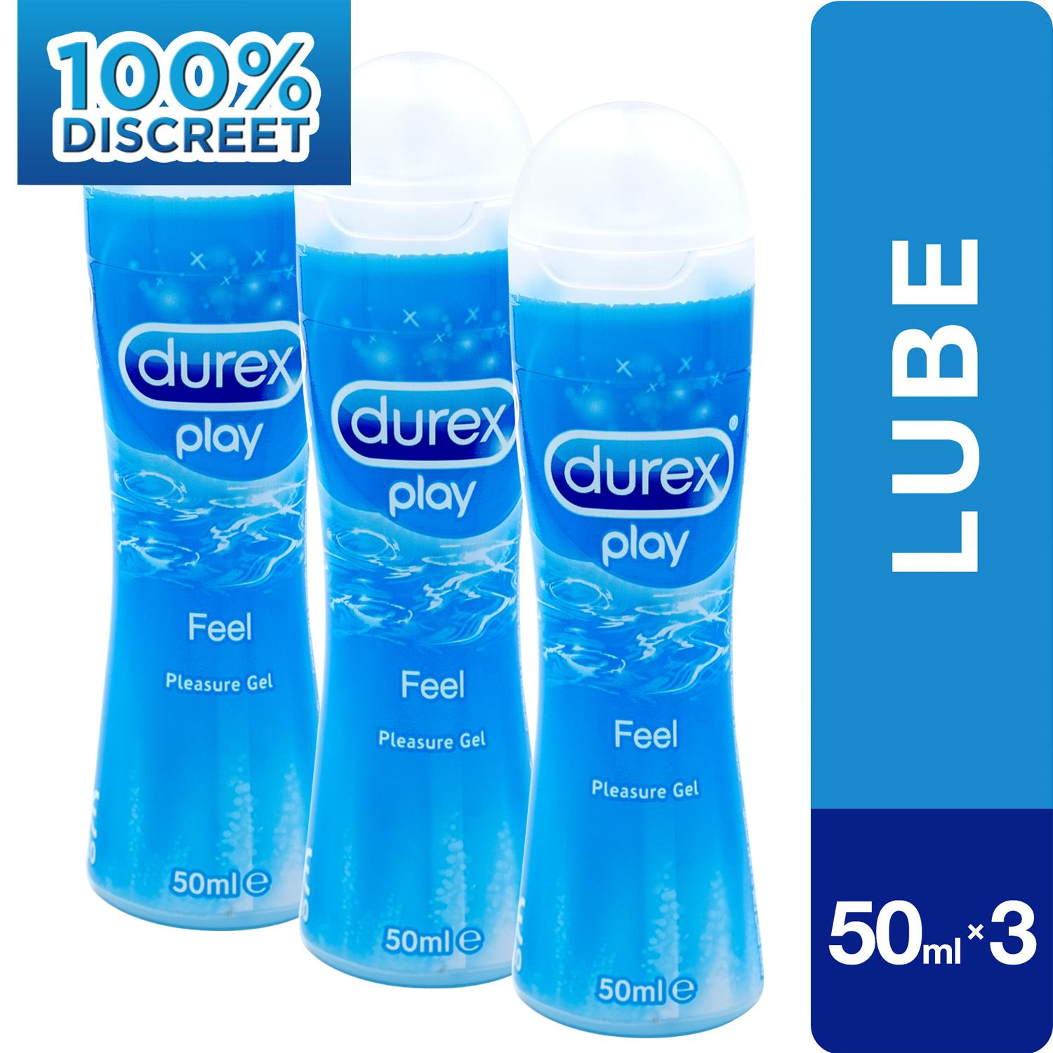Play 50ml Set Of 3 By Official Store Durex.