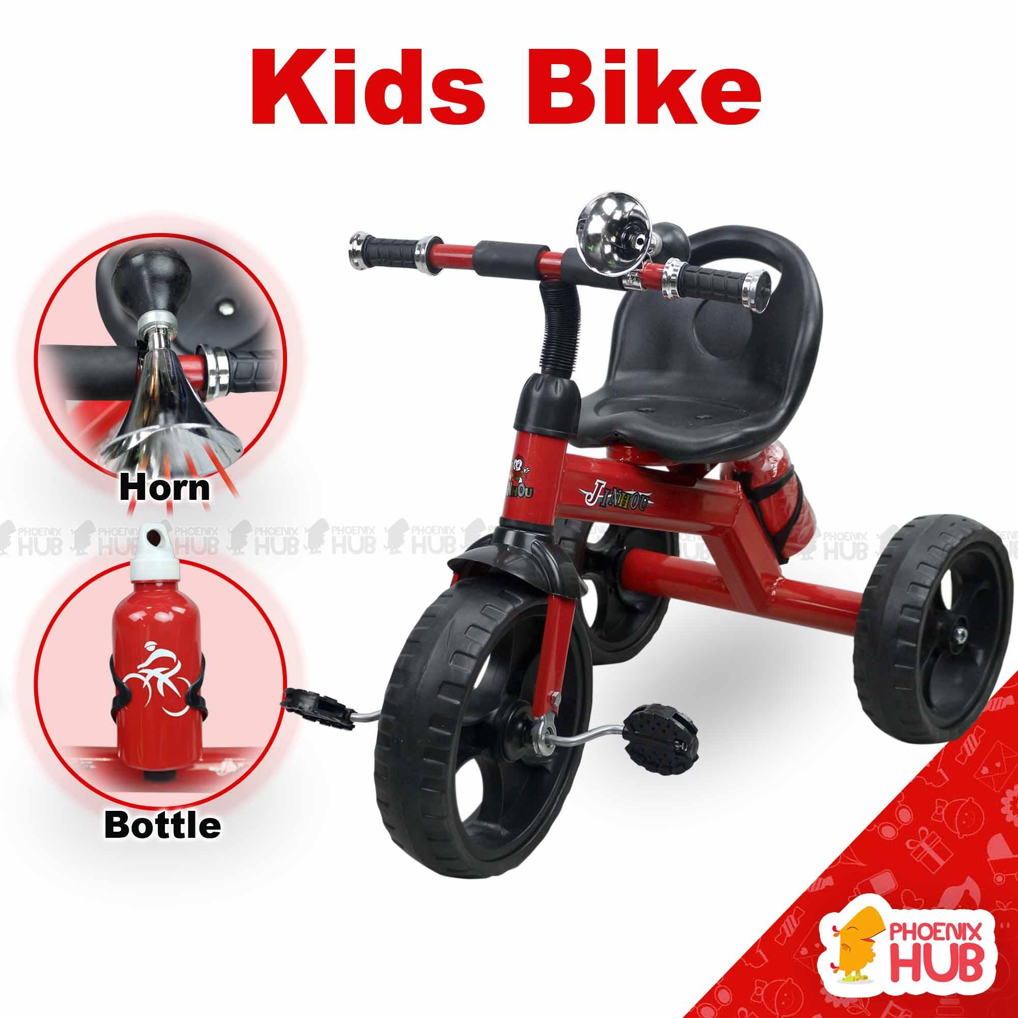 Phoenix Hub Ride On Bike Hand Push Bike Tricycle Bike with Water Bottle