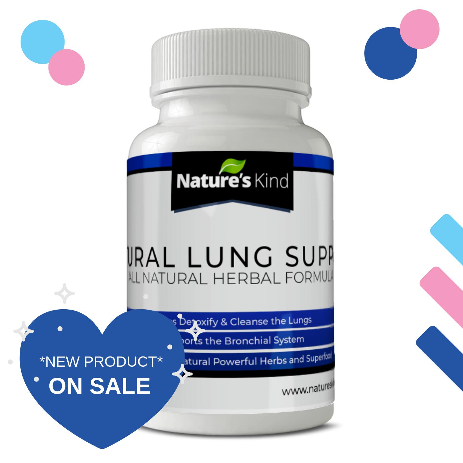 Natural Lung Support - with HERBS for Bronchial Wellness & Clearer Breathing