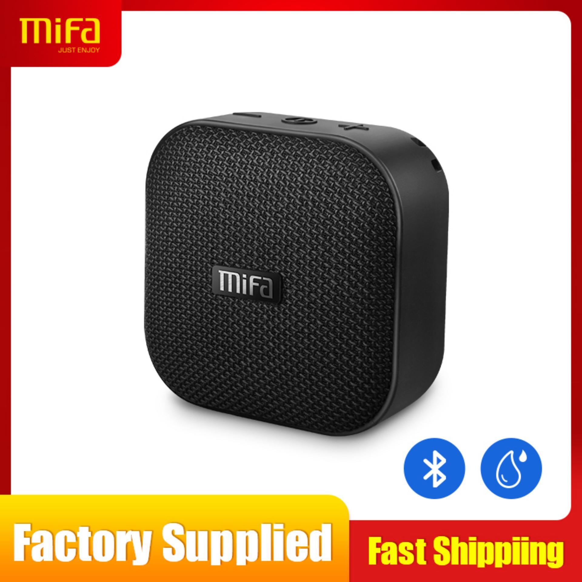 [24 MONTH WARRANTY]MIFA Bluetooth Speaker, Portable True Wireless Speaker  with HD Sound & Bold Bass, IP56 Dustproof & Waterproof, 12-Hour Playtime,