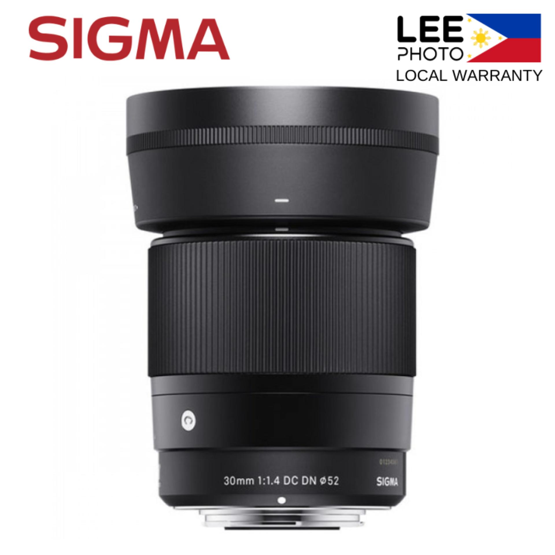 Sigma 30mm 1 4 DC DN Sony E-Mount Lens (Lee Photo)