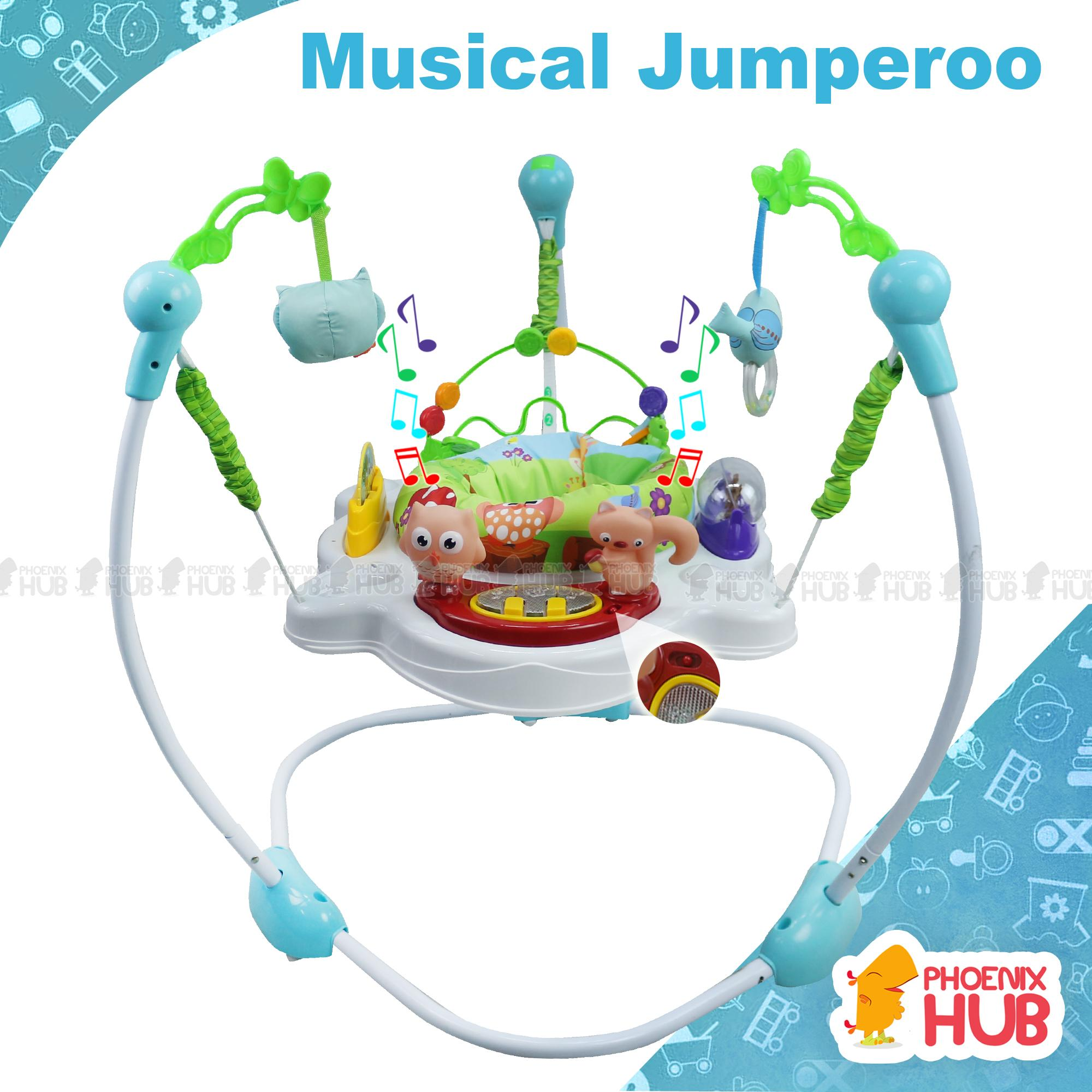 Phoenix Hub Jumperoo Musical & Lights Rainforest Swing Baby Toddler Chair By Phoenix Hub.