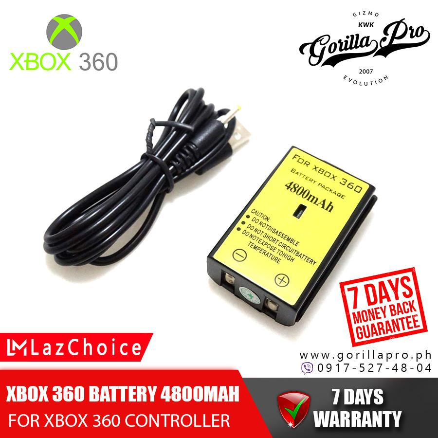 Xbox Charger battery 4800mAh OEM Replacement Rechargeable Pack Battery on