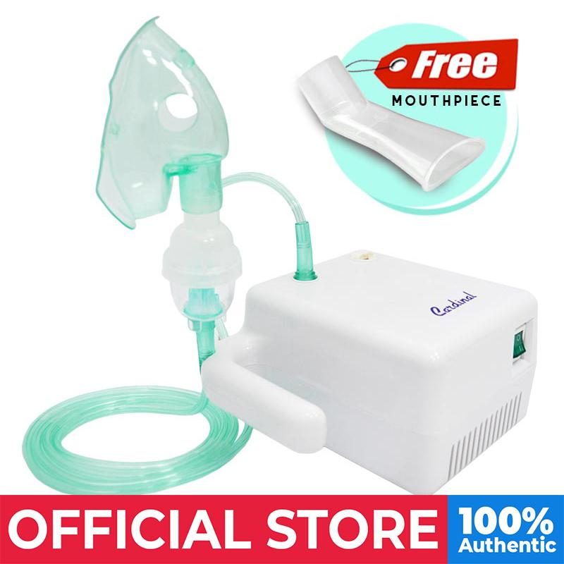Cardinal Compact Nebulizer - Free Mouthpiece By Medical Supplies Philippines.