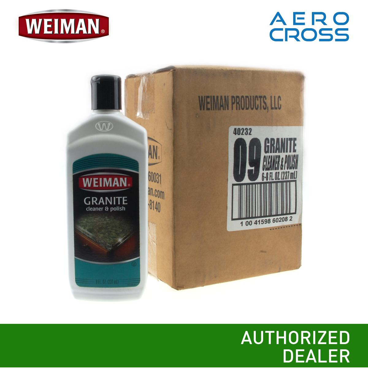 Ac Weiman Granite Cleaner And Polish 1 Box (6 Pcs.) By Aerocross Phils.