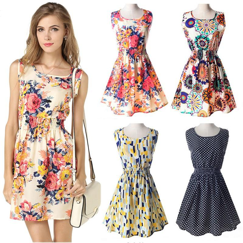 3b9b7fd19f7 Fashion Dresses. 497254 items found in Dresses. Korean Casual Summer  Sleeveless Dress 5a0019