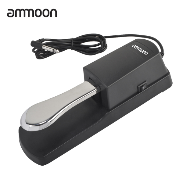 okoogee ammoon Piano Keyboard Sustain Damper Pedal for Casio Yamaha Roland Electric Piano Electronic Organ