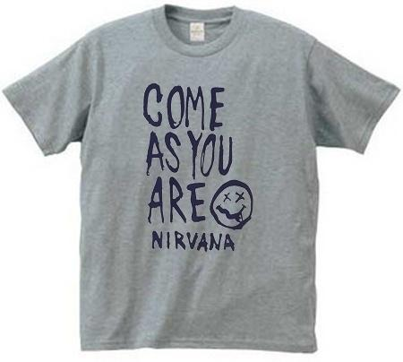 c95557bf Men Women Unisex Seattle Grunge Band Nirvana T Shirt, Come as You Are  Smiley Face