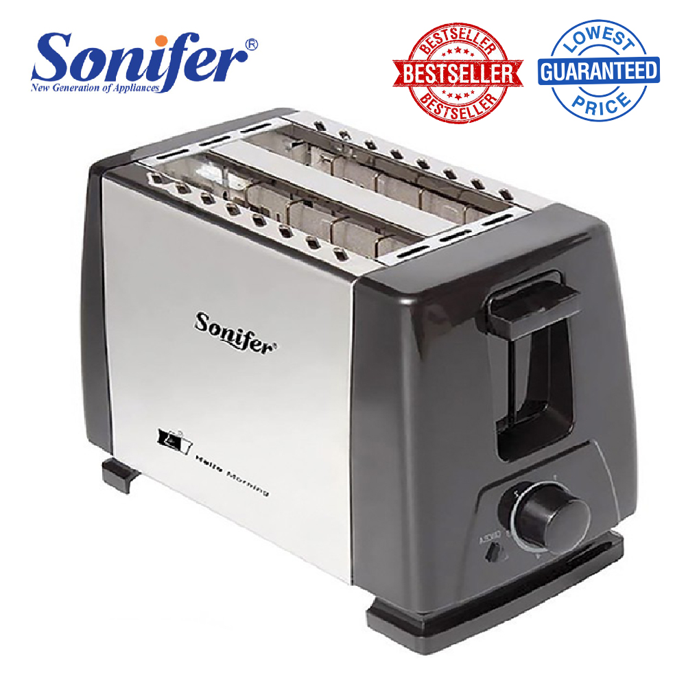 Sonifer Sf 6007 2 Slices Stainless Steel Toaster Automatic Fast Heating Bread Toaster Household Breakfast Maker Sonifer Lazada Ph