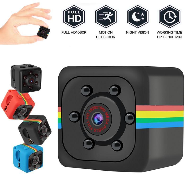 Micrô tích hợp loại 10 trở lên máy quay phim Mini SQ11 Camera nhỏ Máy quay phim cảm biến nhìn đêm 720P Máy quay phim siêu nhỏ DVR DV Máy quay phim 3 màu cho Mac OS