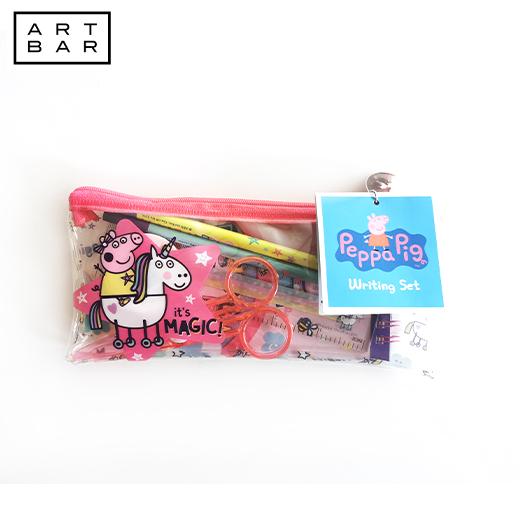 Zipper Pouch Peppa Pig Pencil Pouch Makeup Bag Pencil Case Eye Glasses Pouch