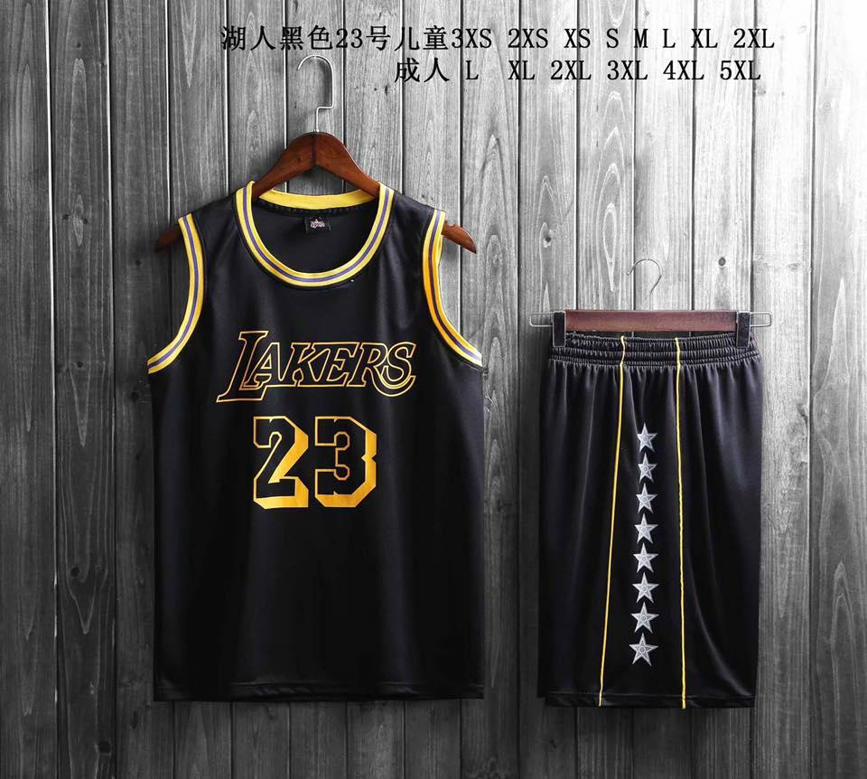 on sale 95b5f 473e8 8001 NBA BASKETBALL LEBRON JAMES JERSEY AND SHORT SET HIGH QUALITY