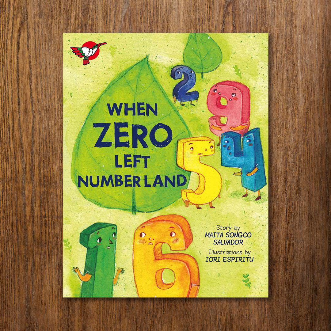 When Zero Left Numberland Storybook By Adarna House.