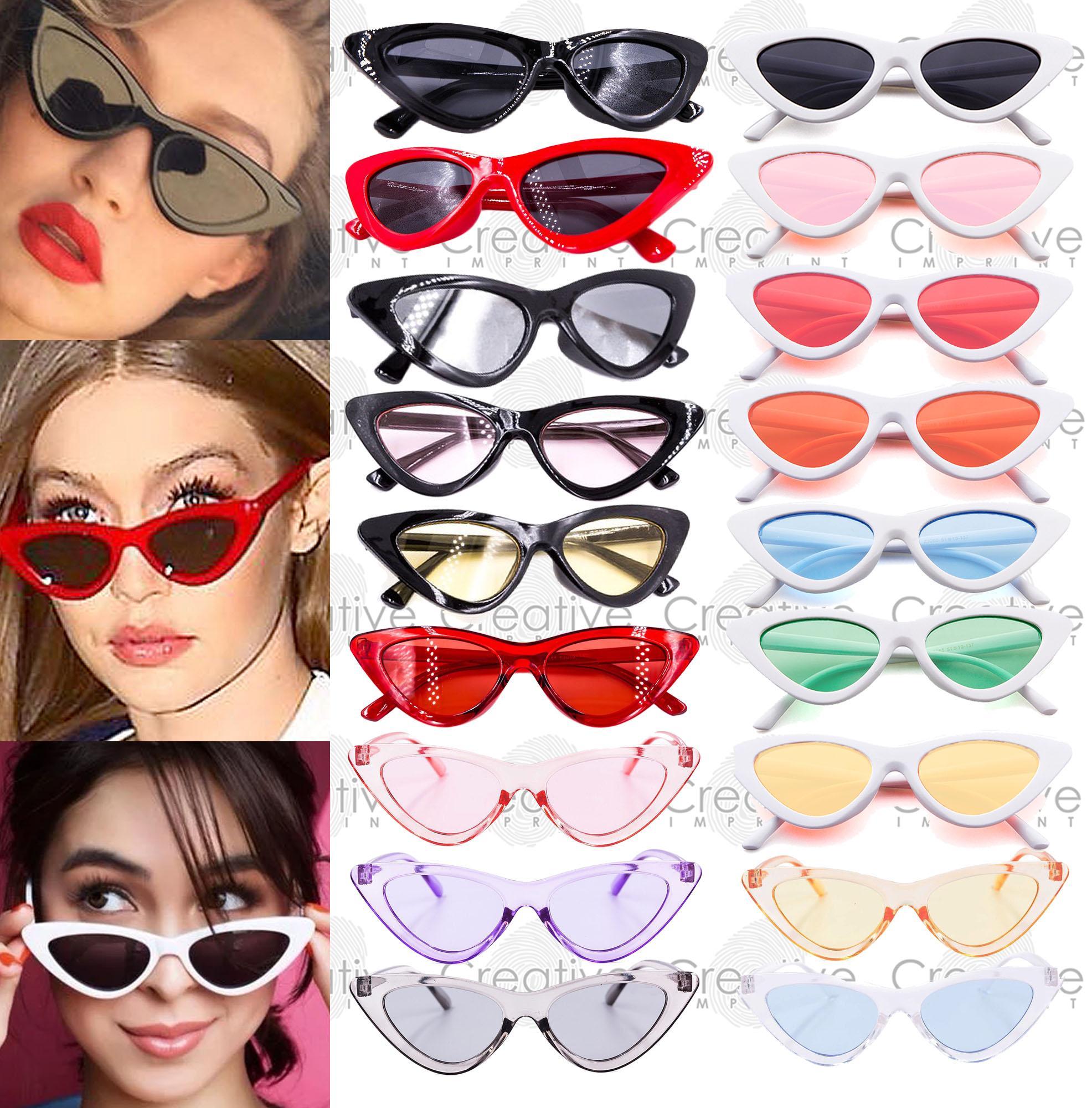 7d22acb3d7e Creative Imprint Lolita Cat Eye Sunnies (FREE CASE   WIPER) Retro Sunglasses  Summer High