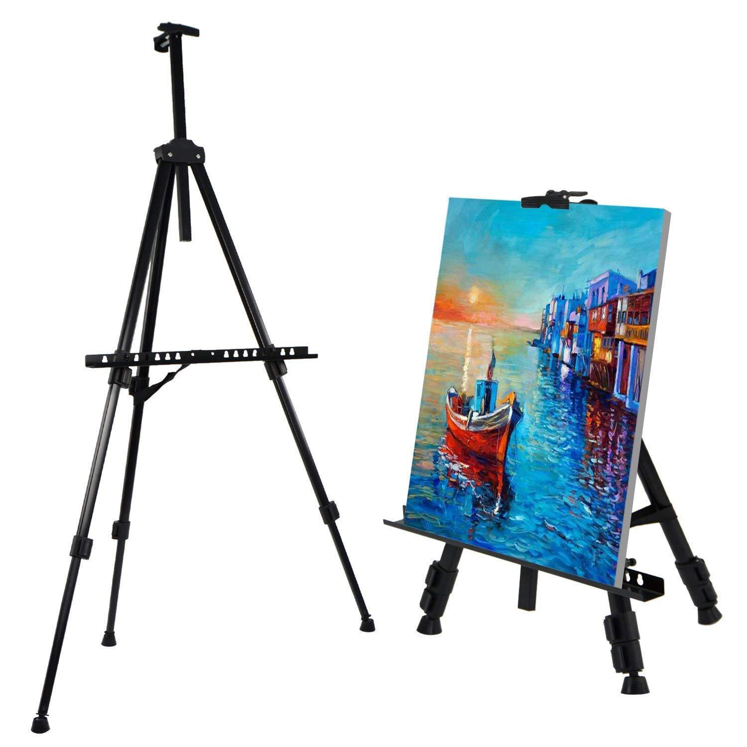 Elegante Beaute Aluminum Easel Stand High Quality By Elegante Beaute.