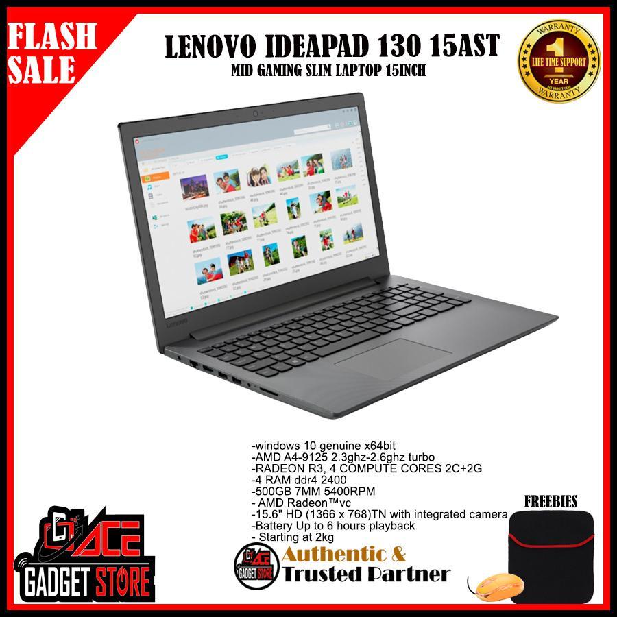 Lenovo Ideapad 130 15AST A4 2 3ghz Mid Gaming 4gb 500gb hdd 15inch