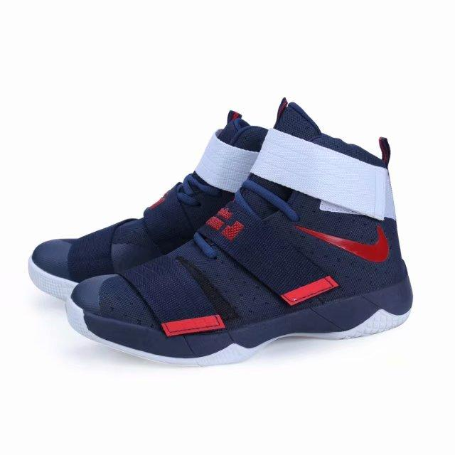 online store df72c 020c6 NIKE Lebron James Soldier 10 High Cut Basketball shoes for boy and women  unisex EUR SIZE 36 37 38 39 40 ( 1767W# )(Non-slip wear-resistant rubber ...