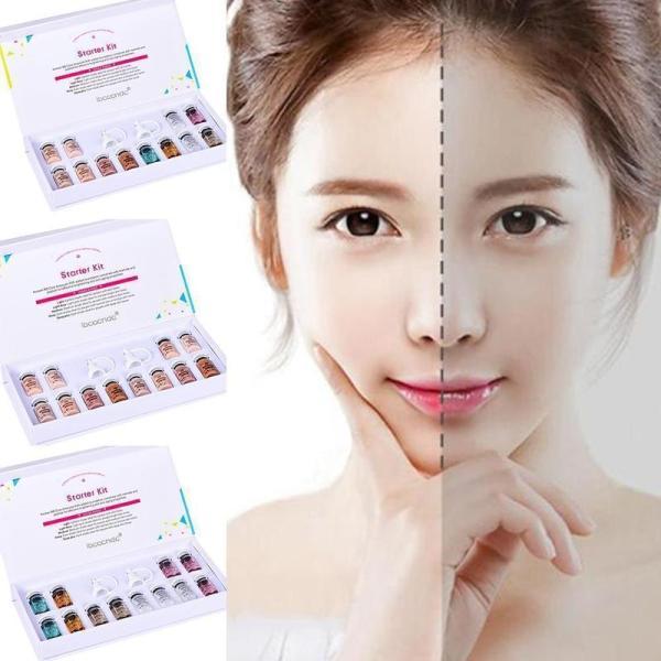 12 Cái/Bộ 8ml BB Glow Skin Cream Meso trắng sáng Serum với dropper khuyết nhiên che Whiteing tự Nude Foundation điểm da P7T7 giá rẻ