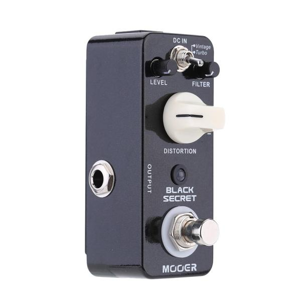 Mooer Black Secret Micro Mini Distortion Electric Guitar Effect Pedal Malaysia