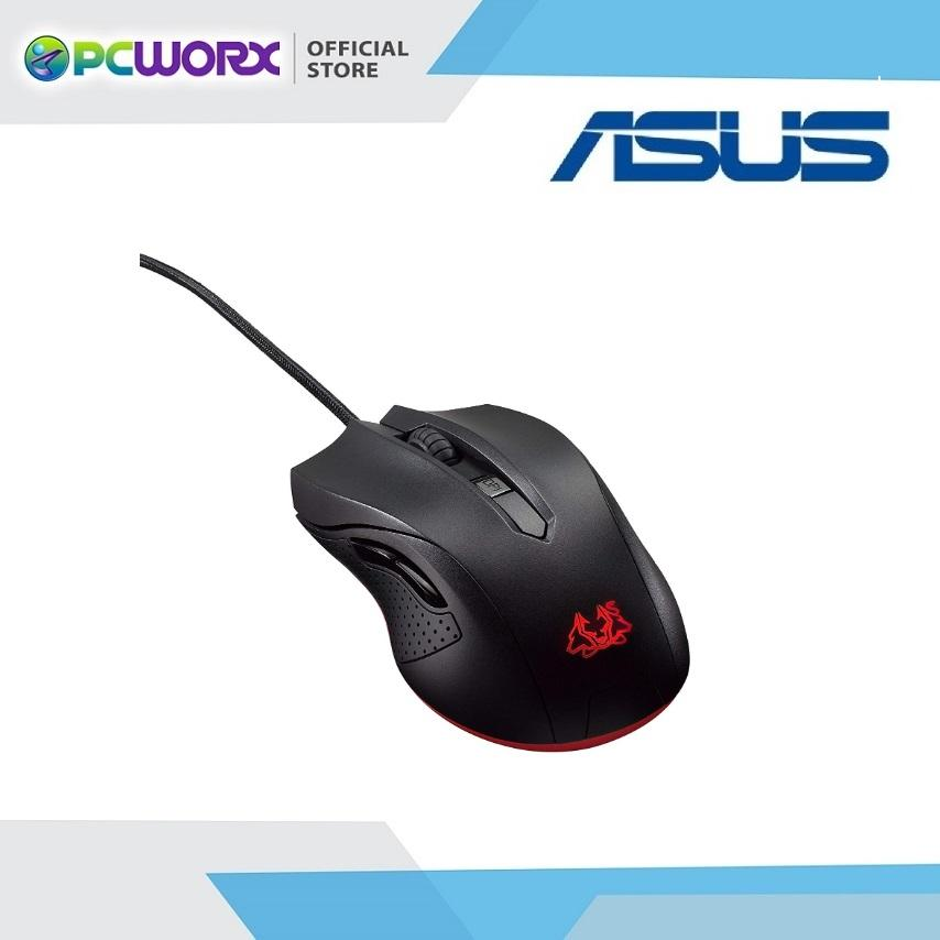 Asus Cerberus Gaming Mouse (black) By Pcworx.