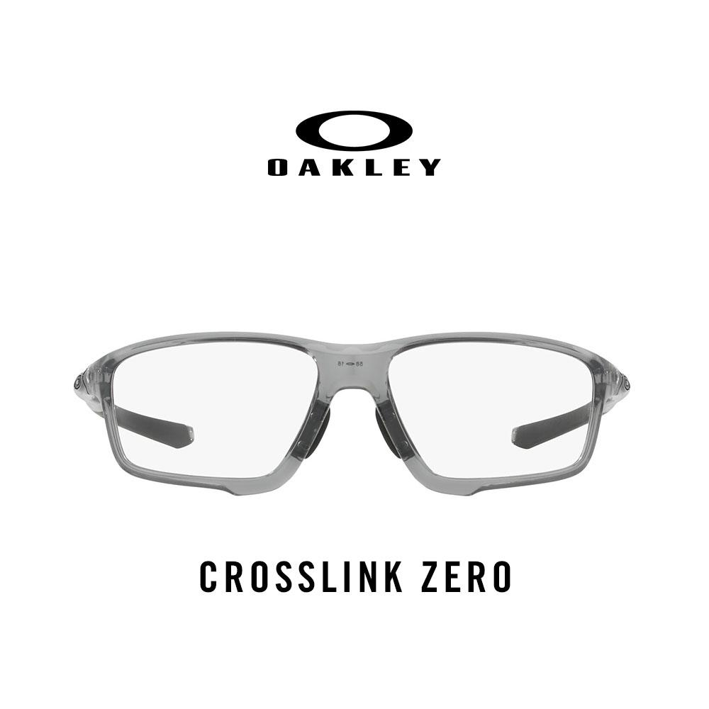 27989defcc39 Oakley Eyeglasses Crosslink Zero (A) OX8080 - Prescription Eyewear -  Polished Grey Shadow (